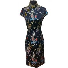 #dress #cheongsam #tailormade #fashion #style                               Tailor Made Dragon And Phoenix Cheongsam/Chipao