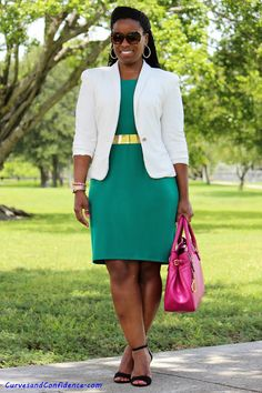 Curves and Confidence | Inspiring Curvy Women One Outfit At A Time: Budget Friendly Office Outfit