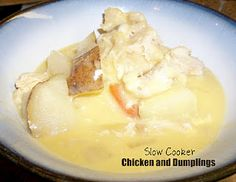 Six Sisters' Stuff: Healthy Meals Monday: Slow Cooker Chicken and Dumplings