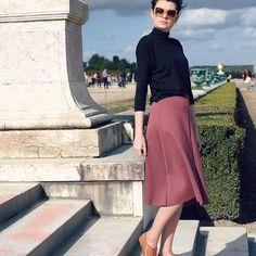 Qual sapato usar com saia Midi • Não Repete