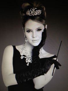 Photo by Agustin Tablante. Model Alexandra Braun. Audry Hepburn Style:                      This Hair Style would look Awesome on Tiffany. She Would look just like Audry Hepburn