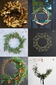 Beautiful Wreath Ideas for the Holidays and Beyond