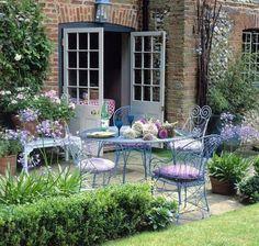 Jardín con estilo
