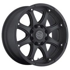 Black Rhino Glamis Black 20x9 6x139.7 12et