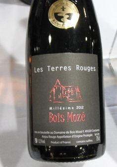 HIPPOVINO: Bois Mozé Les Terres Rouges – Importation Privée de la semaine - vin rouge - France - Anjou - Cabernet franc