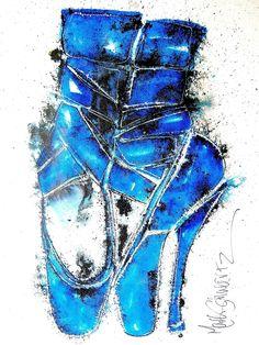 #shoes, #art, #highheels, #www.highheeledart.com  Mark Schwartz - Paintings of Shoes