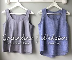 in which I sew a large number of woven tanks (or, Grainline vs Wiksten) - mmmcrafts