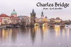Charles Bridge - Prague, Czech Republic - World Traveling Military Family European River Cruises, Charles Bridge, Prague Czech Republic, Somewhere Over, Day Trip, Old Town, Big Ben, Vacation, World