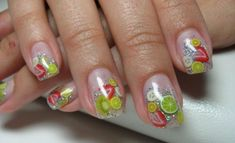 Fimo Nail Art Designs 2014 For more image visit  http://www.naildesignspro.com/top-nail-art-designs-2014/