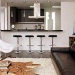 Decoração para sala pequenas com móveis multifuncionais