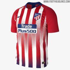 Atlético de Madrid Vapor Match Home Men s Football Shirt - Red. vichugoz ·  Camisetas 0b2fbfa346741
