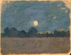 Odilon Redon (French 1840-1916) • Nocturne