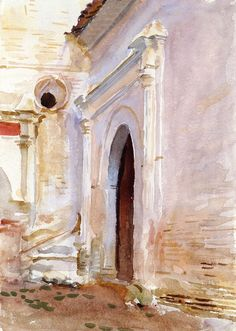 "John Singer Sargent (1856-1925), ""Arched Doorway"" - The Metropolitan Museum of Art ~ New York, New York, USA"