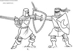 Kleurplaten Ridders Kastelen.362 Beste Afbeeldingen Van Ridders En Jonkvrouwen Castles Knight