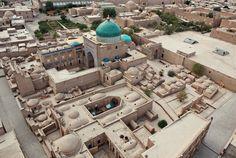 walled city of Khiva, Uzbekistan; UNESCO World Heritage