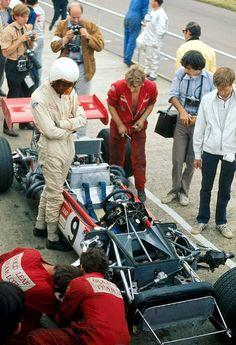 John Miles - Lotus 63 - 1969 British Grand Prix
