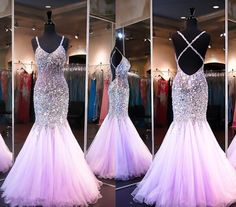 Backless Prom Dresses,Open Back Prom Dress,Prom Gown,Sparkly Prom Gowns,Elegant Evening Dress,Sparkle Evening Gowns,Mermaid Evening Gowns,Sexy Prom Dress,2017 Party Dress For Teens
