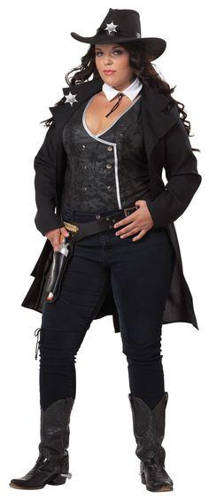 Cowgirl Plus-Size-Costume