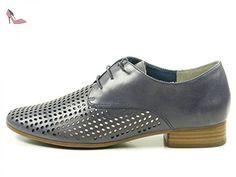 Caprice 9-23501-28 Chaussures Derby femme, Schuhgröße:38.5;Farbe:bleu - Chaussures caprice (*Partner-Link)