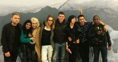 The Sense8 Cast: Max Riemelt, Tina Desai, Tuppence Middleton, Jamie Clayton, Brian J. Smith, Doona Bae, Miquel Angel Silvestre and Aml Ameen