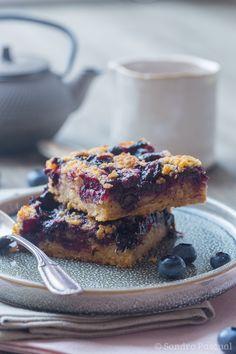 Crumb cake aux Myrtilles - Cuisine Addict