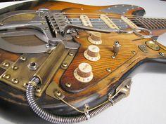 Pepperjackcaster guitar - Tony Cochran Custom Electric Guitars