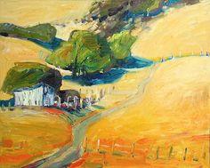 Lundy Siegriest (American, 1925-1985) Barn and road, Bear Creek, c. 1979