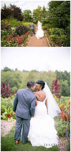 Tower Hill Botanic Garden Wedding Photos by JessFoto