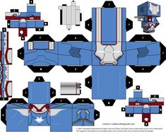 Irom Patriot Cubeecraft by JagaMen.deviantart.com on @deviantART