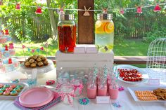 Great ideas for a kids/adult party
