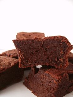 protein brownies; I would sub out the oil and replace with pumpkin puree, and cut down on the brown sugar with a combo of coconut palm sugar, agave', or Stevia.