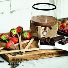 Fancy - Chocolate Fondue Set by XD Design