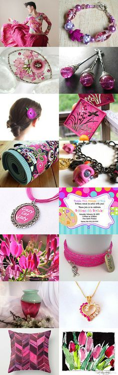 Fantastic Fuchsia! by Diane Waters on Etsy--Pinned with TreasuryPin.com