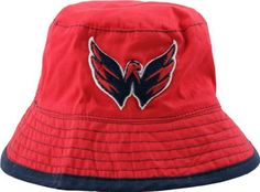 Washington Capitals Infant Red New Era Teammate Bucket Hat by New Era. $14.99. Hey little sports fans--if you are looking for an awesome way to show off your Washington Capitals team spirit, then try this New Era hat on for size. With bold team colors and quality construction, this Washington Capitals Infant Red New Era Teammate Bucket Hat is the coolest way to show off your Capitals team pride.