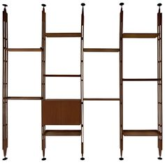 Franco Albini LB7 Bookcase | From a unique collection of antique and modern bookcases at https://www.1stdibs.com/furniture/storage-case-pieces/bookcases/
