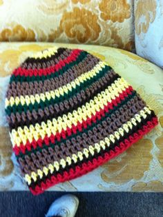 Crochet Slouchy with stripes  Customize it:)