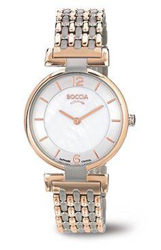 3238-05 Ladies Boccia Titanium Two-Tone Watch 1d6eaed35c