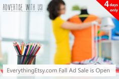 The Fall Ad Sale is Open! - EverythingEtsy.com #etsy #handmade