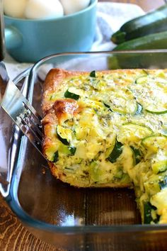 Cheesy Zucchini Bake | Food Fun Kitchen