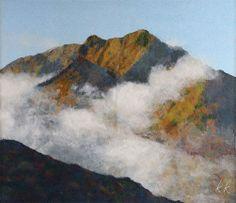 mountain in chigiri-e
