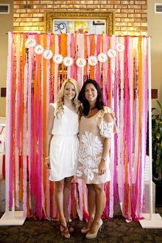 cute bridal shower photo booth | Visit thejacksonvillebride.com