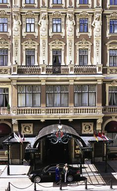 Grand Hotel Europe, St. Petersburg.