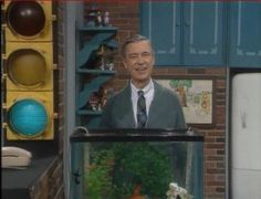 After the family of a 5-year-old blind girl wrote to Mr. Rogers about how she cried because she wasn't sure if he had fed his fish, he made a point to always mention it out loud for her. | 21 Heartwarming And Beautiful Facts About Mr. Rogers That Will Brighten Even The Crummiest Day