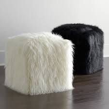 Image result for fluffy round ottoman