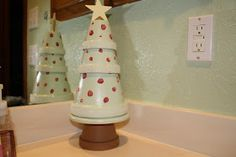 The O'Donnell Nest: Flower Pot Christmas Tree