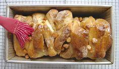 Butterflake Herb Loaf Transformed via @kingarthurflour