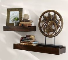 Rustic Wood Shelf | Pottery Barn