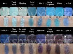 NYX 162 single eyeshadow swatches, complete with the 50 retired shades. Nyx Single Eyeshadow, Nyx Eyeshadow, Makeup Dupes, Makeup 101, Nyx Swatches, Makeup Swatches, Neutrogena, Turquoise Eyeshadow, Expensive Makeup