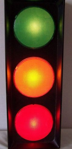 Traffic Lite Electric Stop Light Lamp