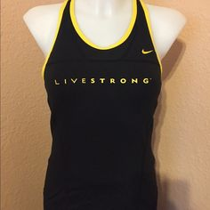 NWOT Nike tank top NWOT Great Nike tank top, has netting at front neck and back, I tried to show in picture #2 and #3 Nike Tops Tank Tops